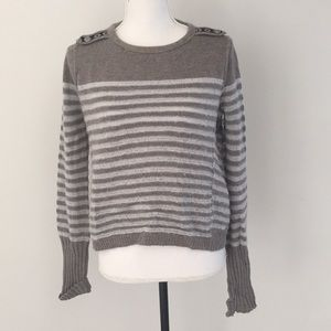 Free people striped sweater small